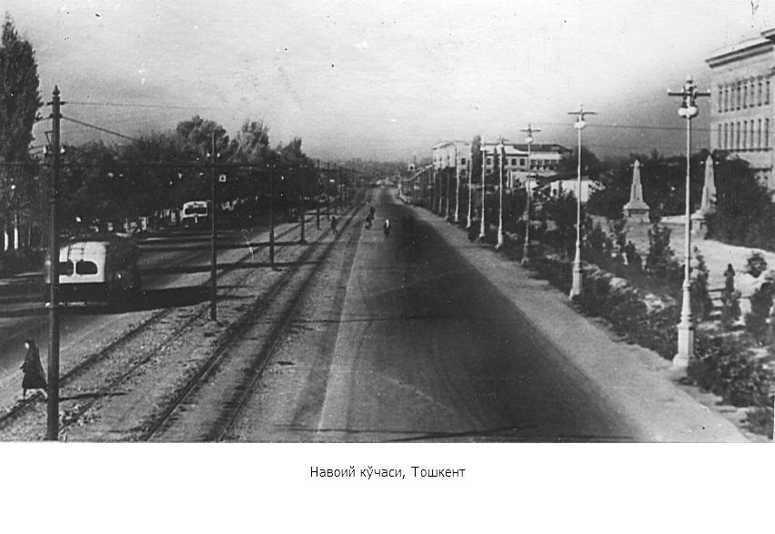 Navoiy ko'chasi, Toshkent