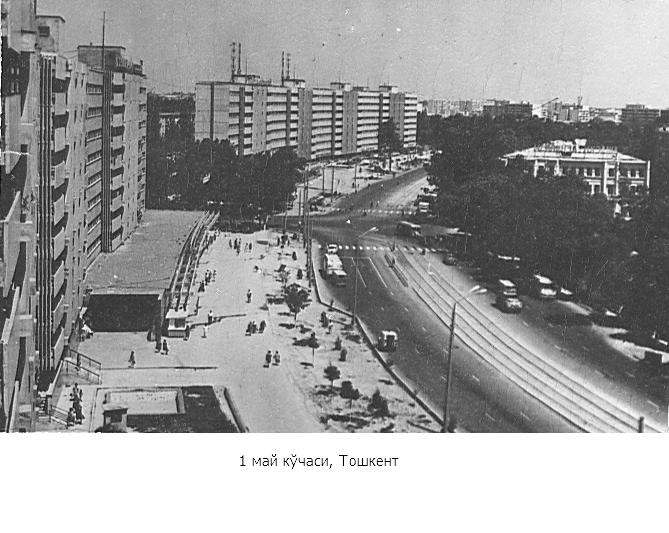 1 may ko'chasi, Toshkent