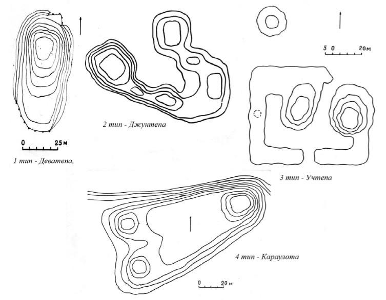 Типы поселений эпохи античности