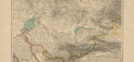 Turkiston xaritasi, 1909 yil (Карта Туркестана, 1909 г.)
