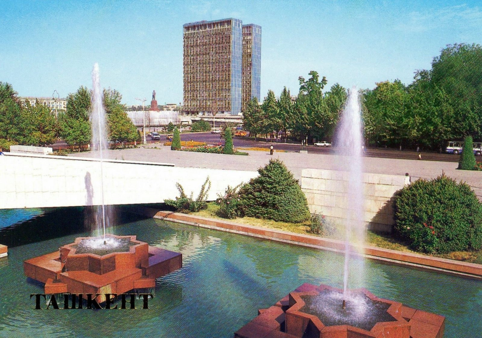 Ташкент в 1988