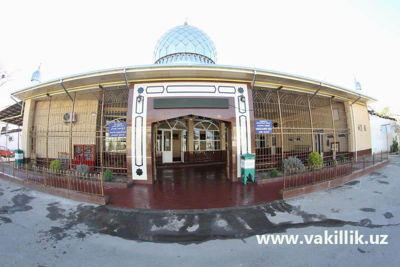 abdulhamid-hoji-jome-masjidi-tashqi-korinishi