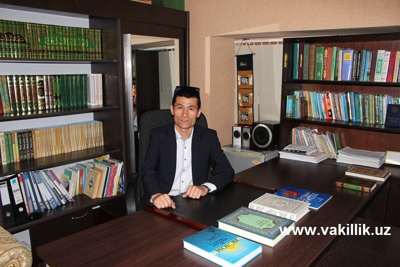 Имом-хатиб Илҳомжон Мадалиев