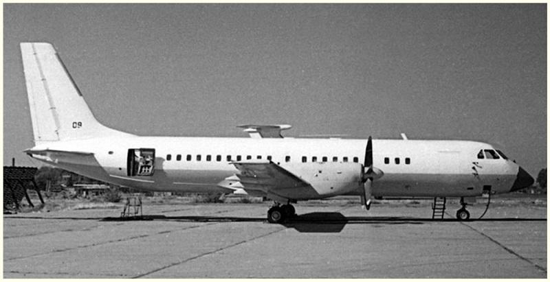 Пассажирский Ил-114 на аэродроме Ташкентского авиационного производственного объединения