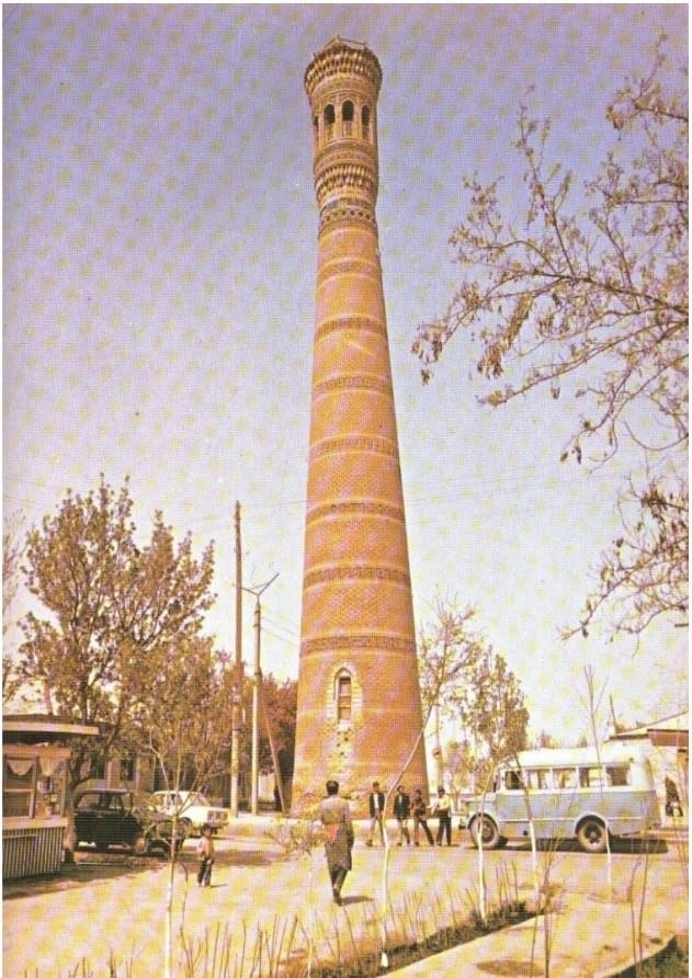 Vobkent minorasining umumiy ko'rinishi