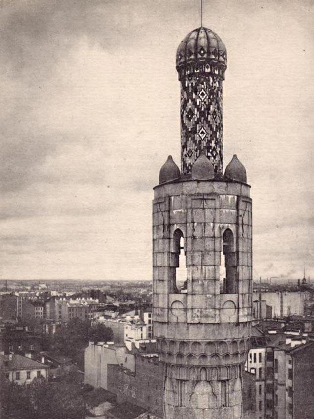 Мечеть. Ленинград. Фотограф В.В. Пресняков. 1920-30 гг.