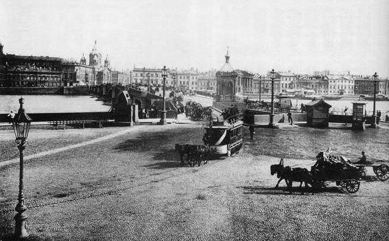 Николаевский мост. Санкт-Петербург, начало ХХ в.