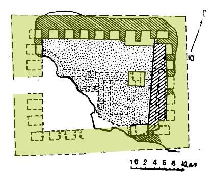 План Актепа Чиланзар VI периода [1]