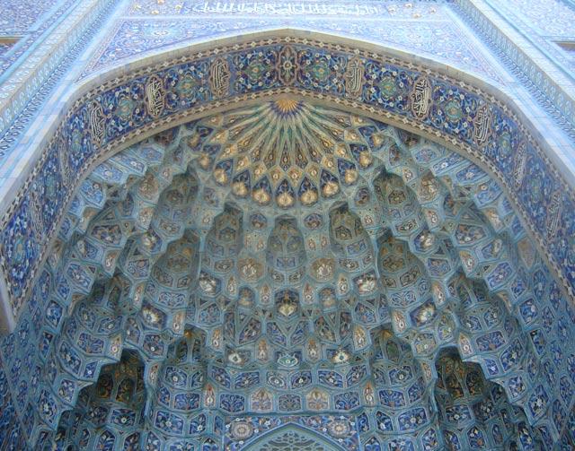 Соборная мечеть. Изразцовый декор портала