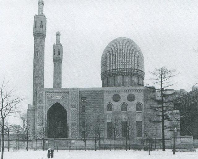 Соборная мечеть. Кронверский проспект. Фото 1910 -х гг.