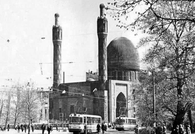 Соборная мечеть. Ленинград. Фото 1970-х г.