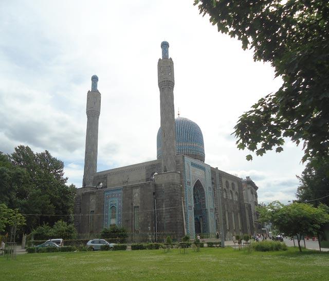 Соборная мечеть. Санкт-Петербург