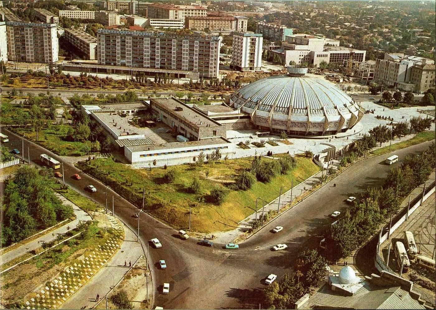 Цирк, Ташкент, 1980 г.