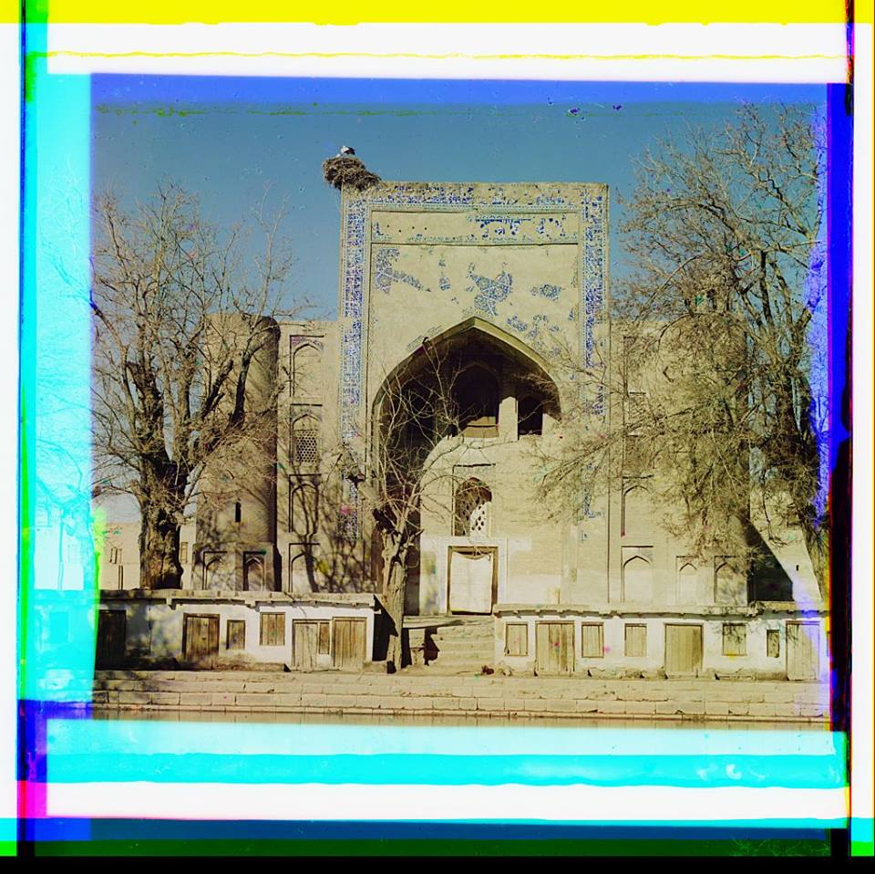 Duan-Beggi Medrese (in Labikhauz). Bukhara