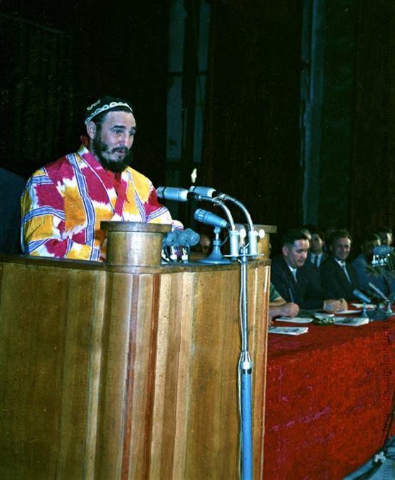Фидел Кастро, Ўзбекистон