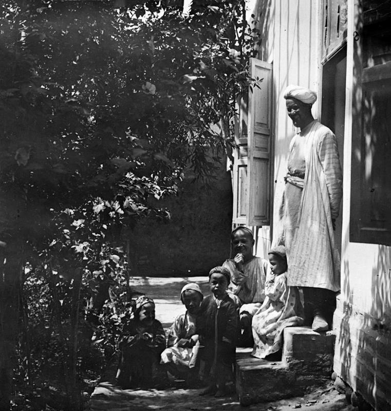 Тошкент, боғ, 1911 йил